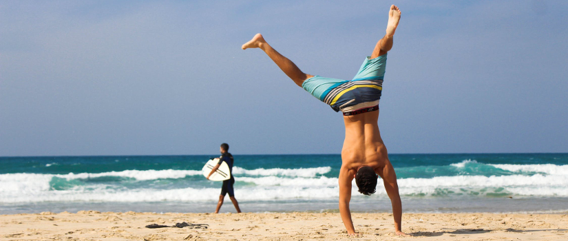 Life Is like a Handstand